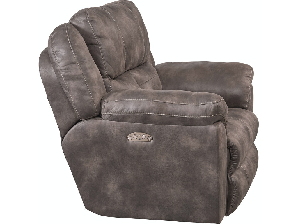 Catnapper furniture living room power headrest power lay flat recliner 618907 butterworths of Catnapper loveseat recliner