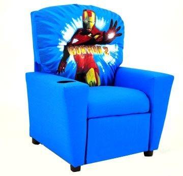 Incroyable Kidz World Furniture Youth Iron Man Recliner