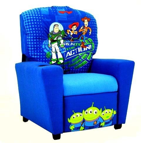 Kidz World Furniture Disney Toy Story Recliner 1300 Recliner Toy Story ...