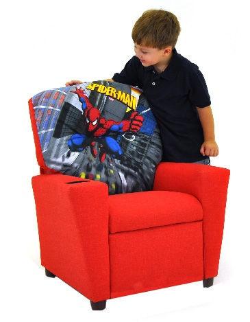 Kidz World Furniture Youth Spiderman Recliner  sc 1 st  Au0026W Furniture & Kidz World Furniture Youth Spiderman Recliner 1300-Recliner ... islam-shia.org