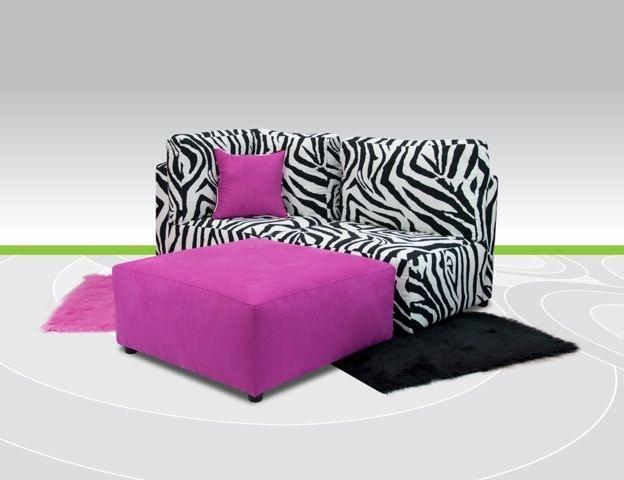 Kidz World Furniture Tween Sectional 2500 Sectional Tween