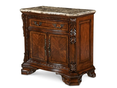 ART Furniture Stone Top Door Nightstand 143142-2606