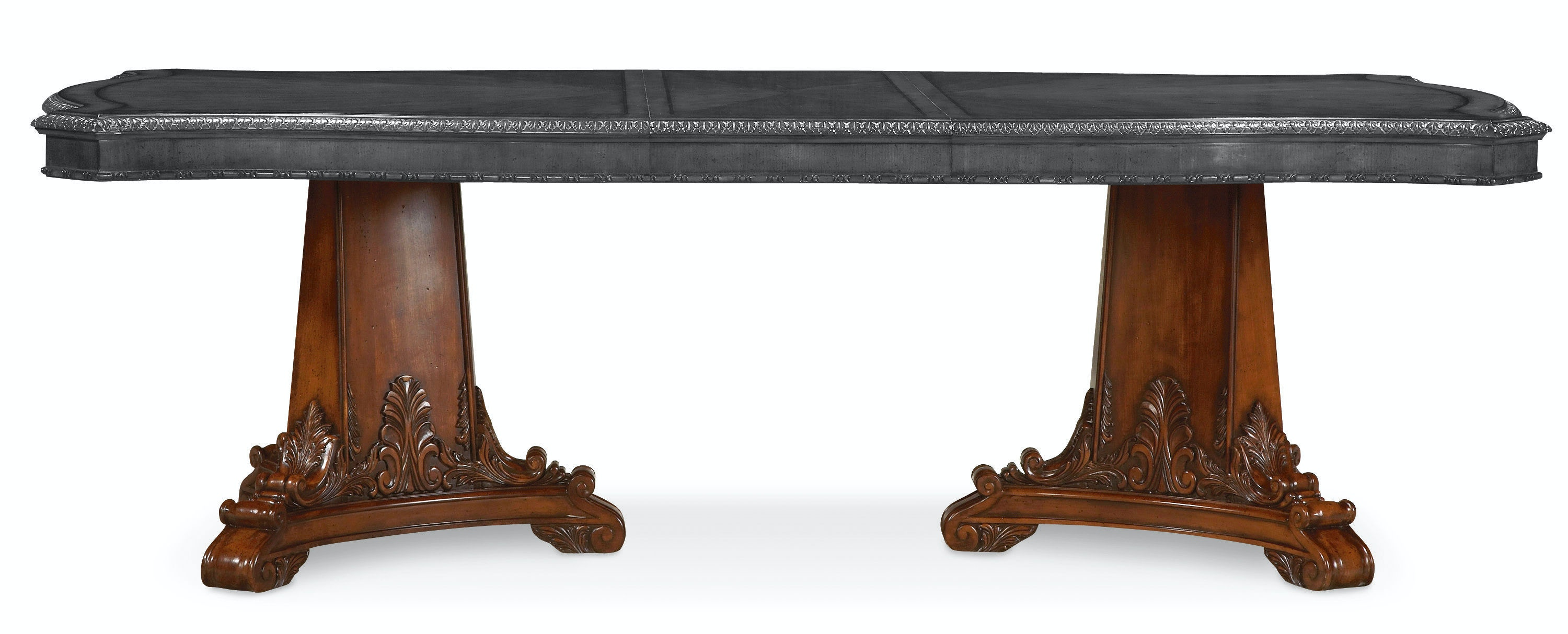 ART Furniture Dining Room Double Pedestal Dining Table Base 143221 2606BS  At American Factory Direct