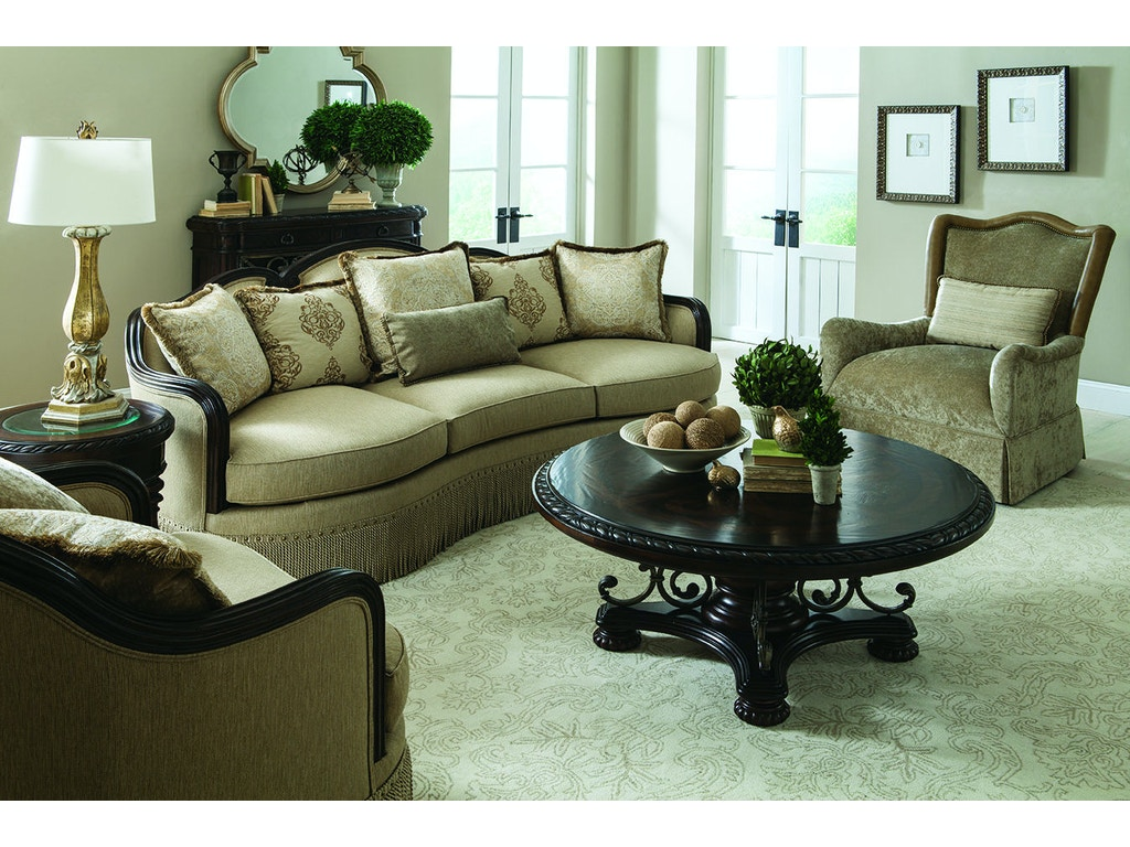 Art furniture living room golden quartz sofa 509501 5327ab for Furniture yakima wa