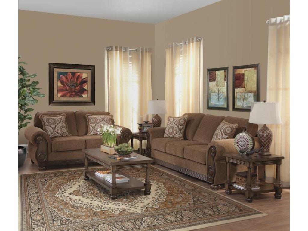 Hughes Furniture Living Room Loveseat 8000ls Arthur F
