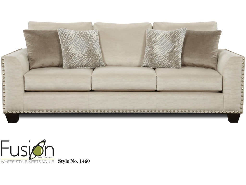 Fusion Living Room THE 1460 EMPIRE STONE - Hennen Furniture - St ...