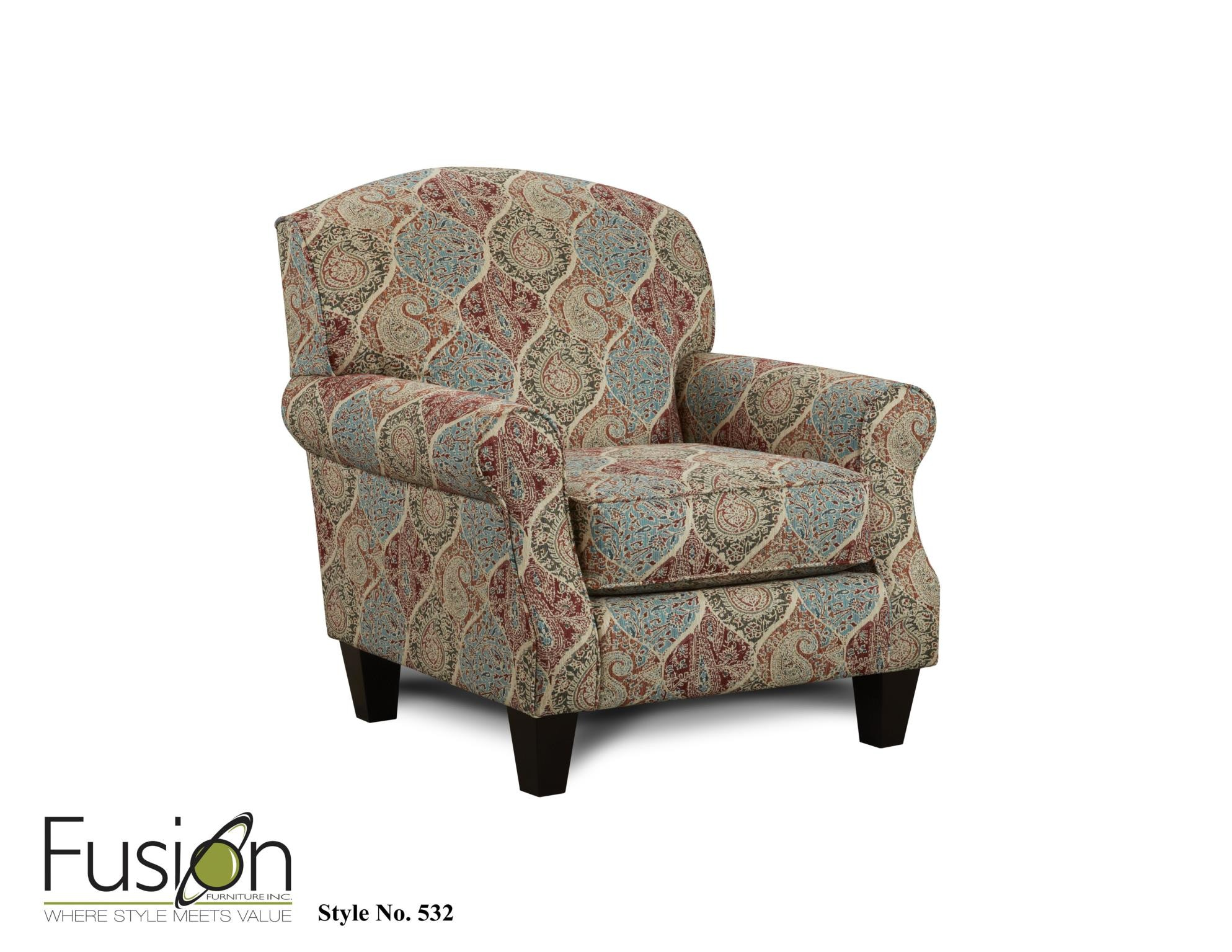 Superior Fusion Living Room Chair 532BILTMORE HEATHER   B.F. Myers Furniture    Goodlettsville And Nashville Area, TN