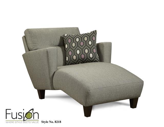 Fusion Chaise 8218Decade Graphite At Gustafsonu0027s Furniture And Mattress