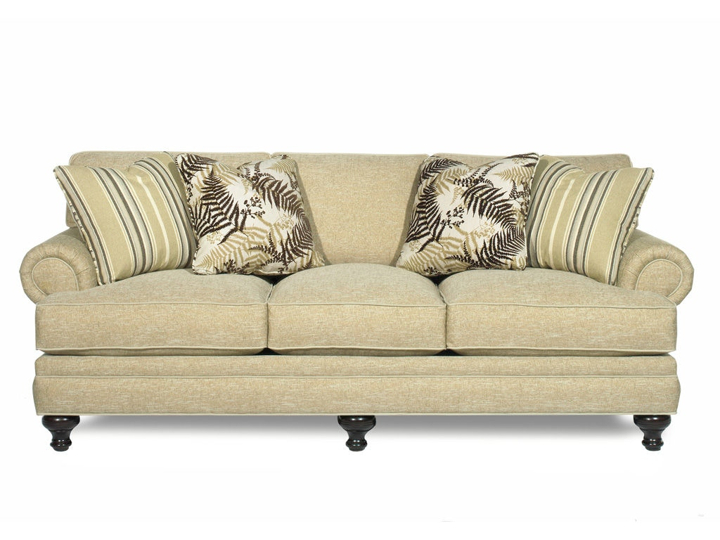 Paula Deen Living Room Furniture Collection Paula Deen By Craftmaster Living Room Three Cushion Sofa P709950bd