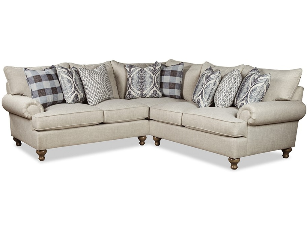 Paula Deen by Craftmaster Living Room Sectional P7117BD-Sect - Great ...