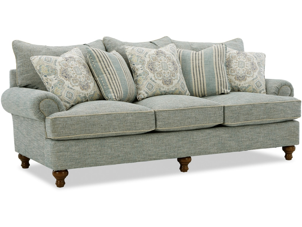 Paula Deen by Craftmaster Living Room Three Cushion Sofa P711750BD ...