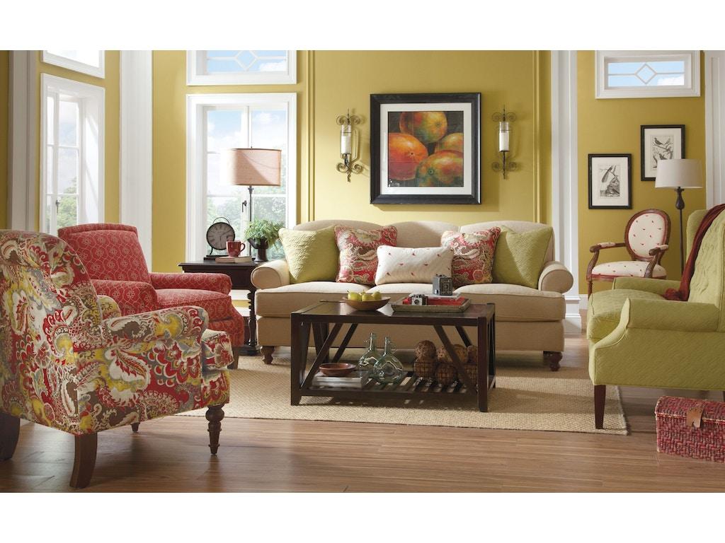 Paula Deen Living Room Furniture Paula Deen By Craftmaster Living Room Sofa P736550bd Craftmaster