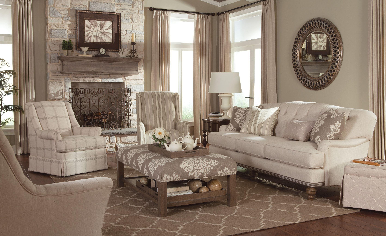 Paula Deen By Craftmaster Living Room Sofas P744950bd Craftmaster Hiddenite Nc