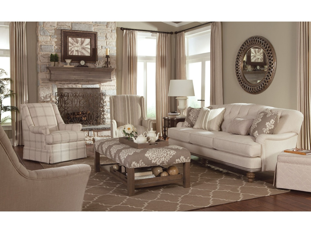 Paula Deen Living Room Furniture Collection Paula Deen By Craftmaster Living Room Sofas P744950bd