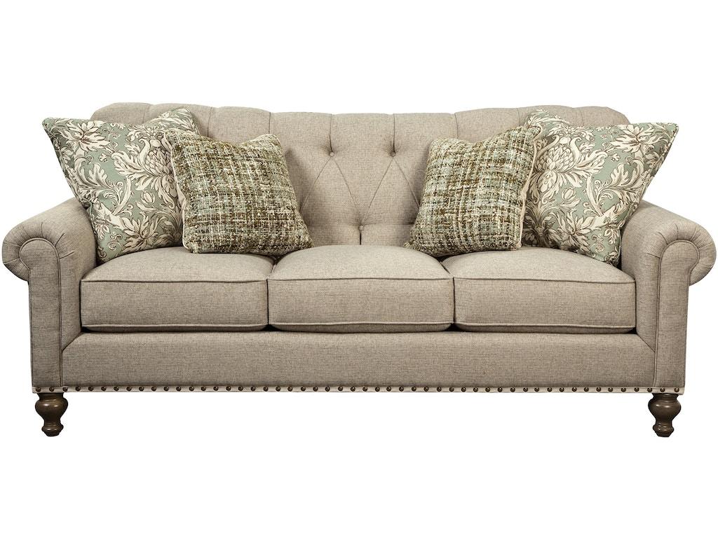 Paula Deen By Craftmaster Living Room Sofa P754150bd Good 39 S Furniture Kewanee Il