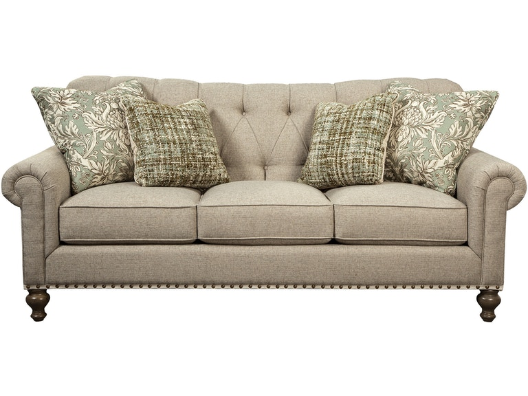 Paula Deen by Craftmaster Living Room Sofa P754150BD - Stacy ...
