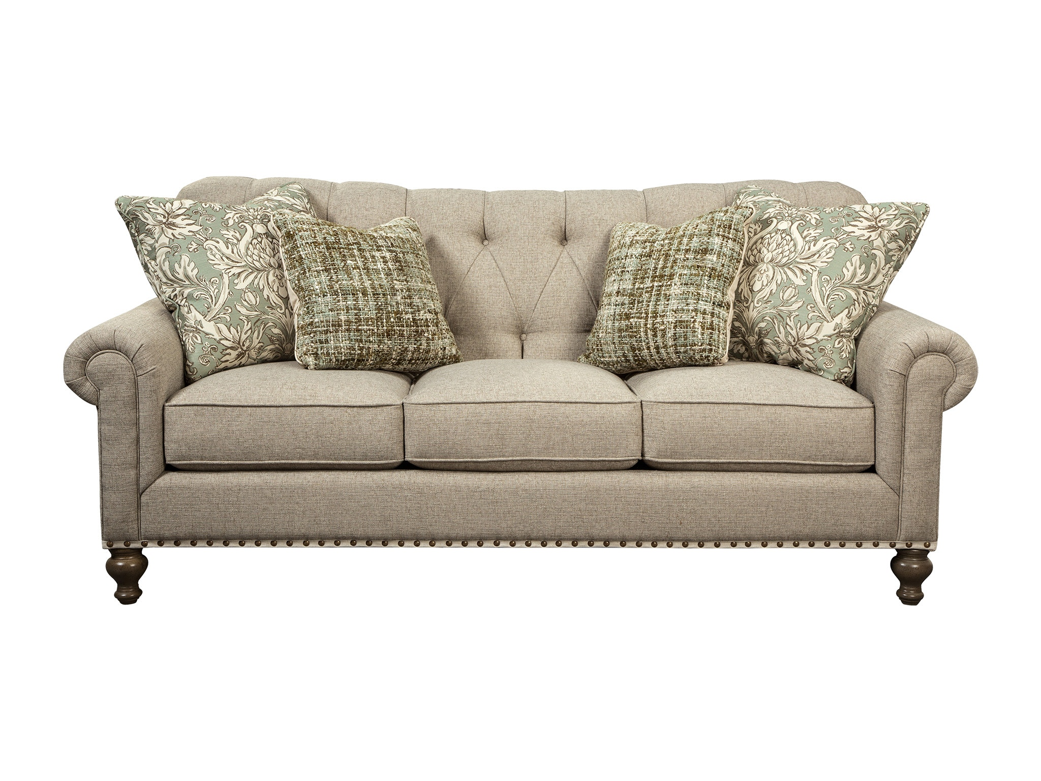 Paula Deen by Craftmaster Living Room Sofa  sc 1 st  Craftmaster Furniture : paula deen sectional sofa - Sectionals, Sofas & Couches