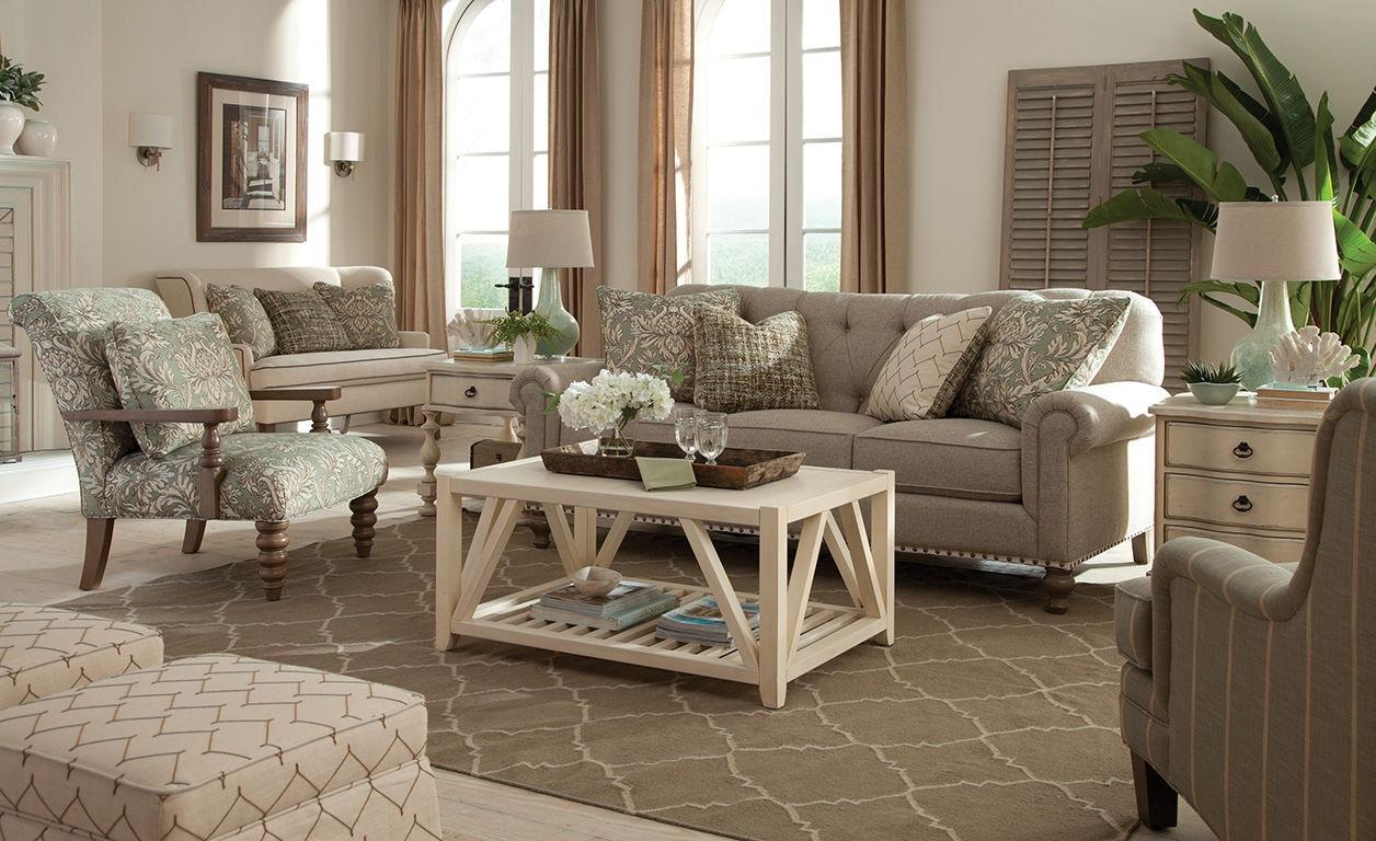 paula deencraftmaster living room sofa p754150bd - craftmaster