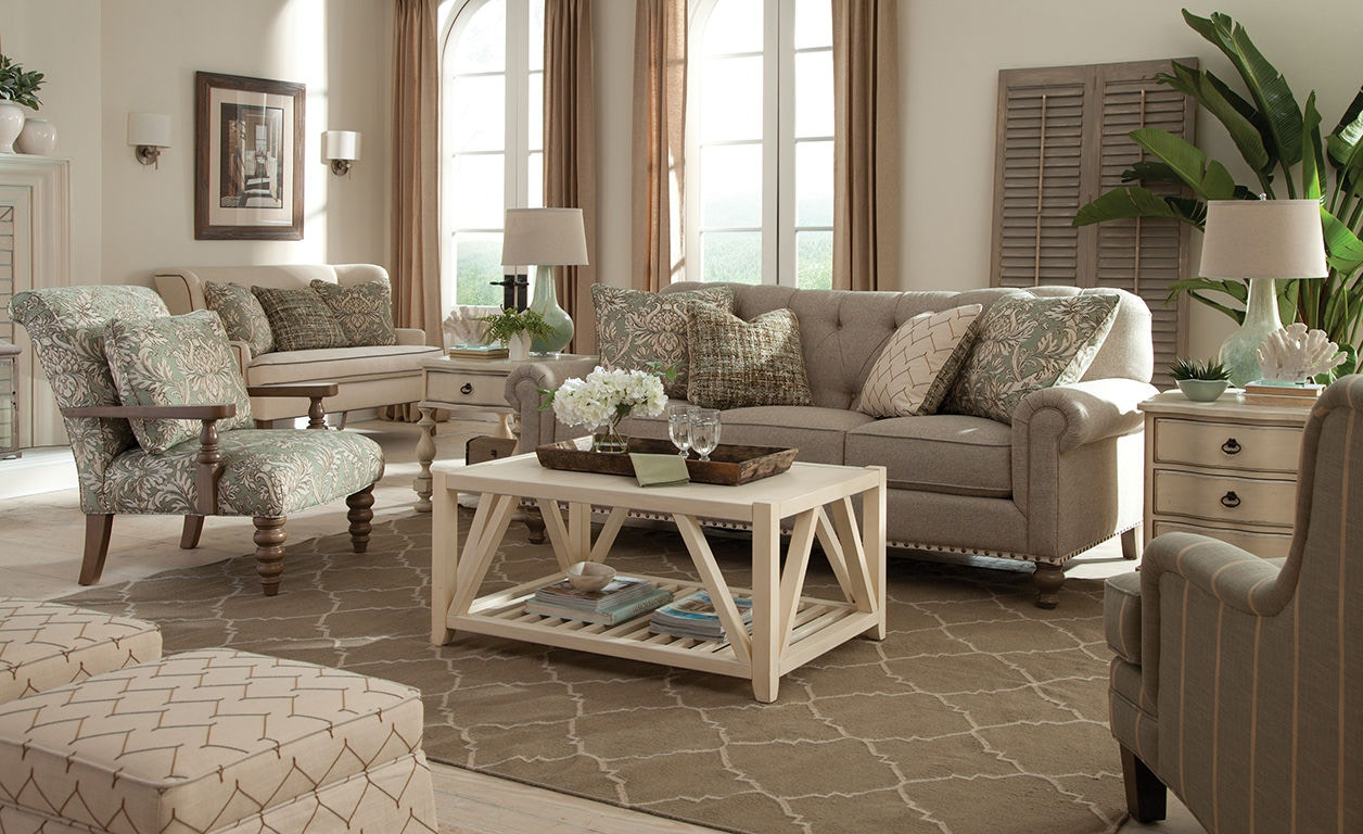 paula deen by craftmaster living room sofa p754150bd stacy
