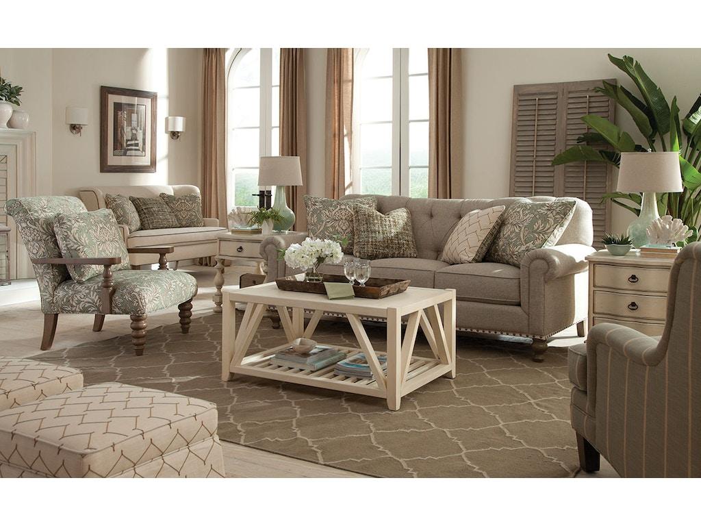 Paula Deen By Craftmaster Living Room Sofa P754150bd Craftmaster Hiddenite Nc