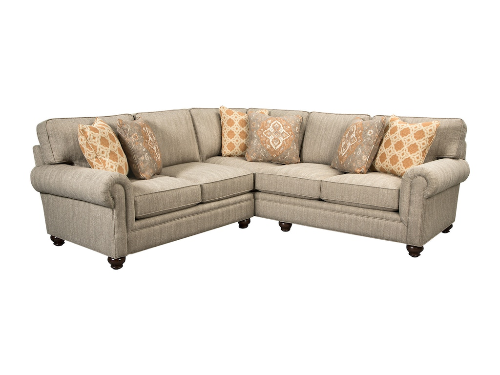 Paula Deen Living Room Furniture Collection Paula Deen By Craftmaster Living Room Sectional P7552 Sect