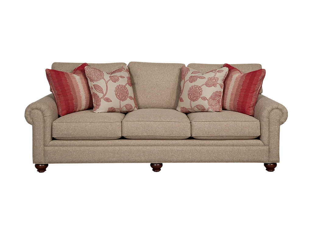 Paula Deen Living Room Furniture Collection Paula Deen By Craftmaster Living Room Sofa P755250bd Craftmaster