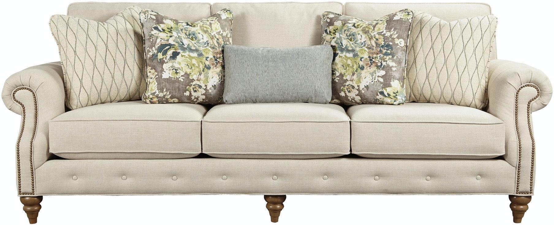 paula deencraftmaster living room sofa p763250bd - craftmaster