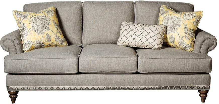 paula deencraftmaster living room sofa p764650bd - craftmaster