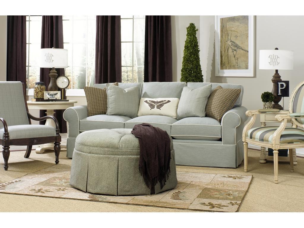 Elegant ... Paula Deen By Craftmaster Three Cushion Sofa P992050 68BD Sleeper ...