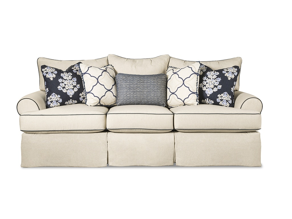 Paula Deen Living Room Furniture Collection Paula Deen By Craftmaster Living Room Three Cushion Sofa P997050bd