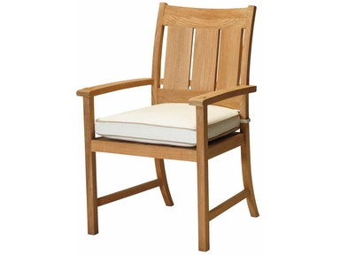 Summer Classics Croquet Teak Arm Chair 28304