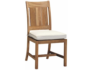 Summer Classics Croquet/Club Teak Side Chair 28314
