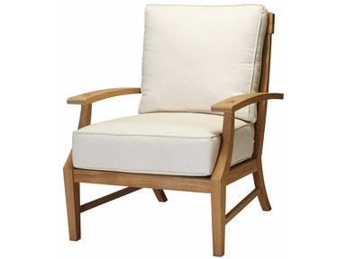 Summer Classics Croquet Teak Lounge Chair 28374