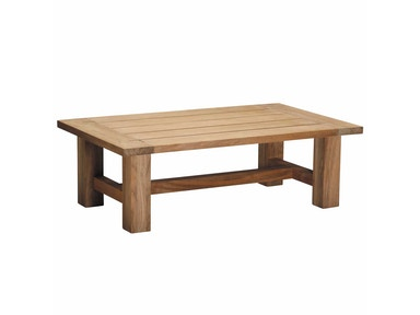 Summer Classics Croquet Teak Coffee Table 28414