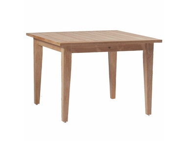 Summer Classics Club Teak 42 Square Farm Table 28434