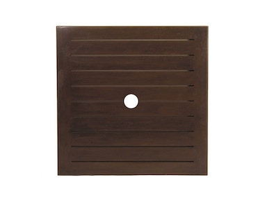 Summer Classics Resort Square Slatted Table Top (HOLE)