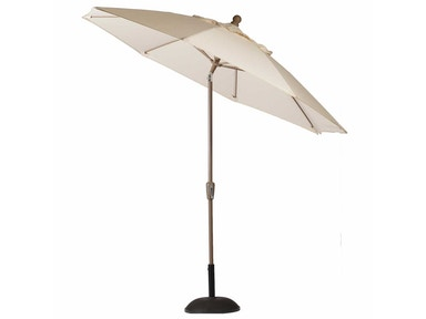 Summer Classics 9 Feet Aluminum Auto Tilt Patio Umbrella