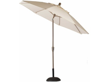 Summer Classics 9 Feet Aluminum Auto Tilt Patio Umbrella 75625