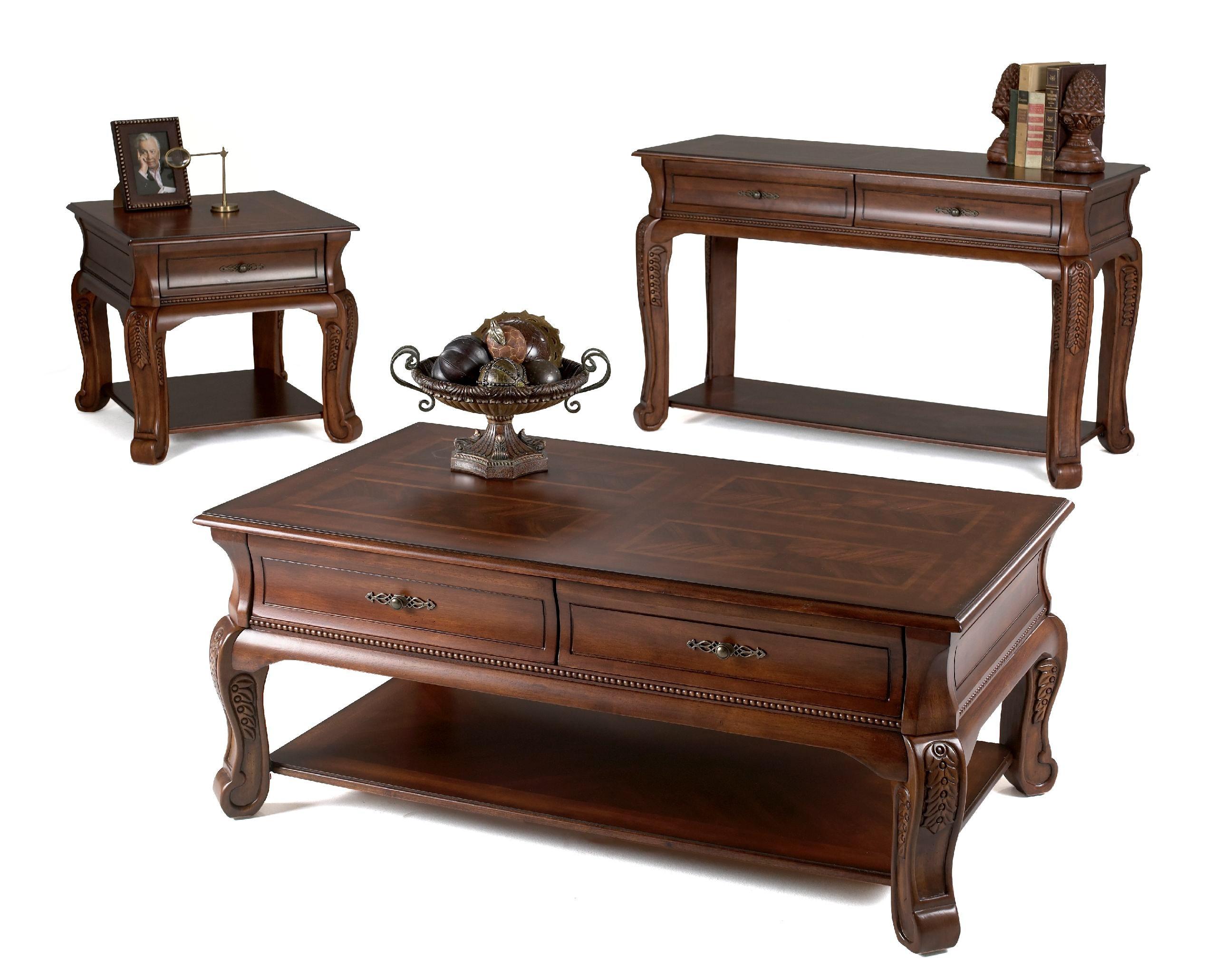 ... Klaussner International Winchester End Table 808 809 ETBL