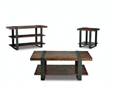 Klaussner International Timber Forge Tables 444 Occasional