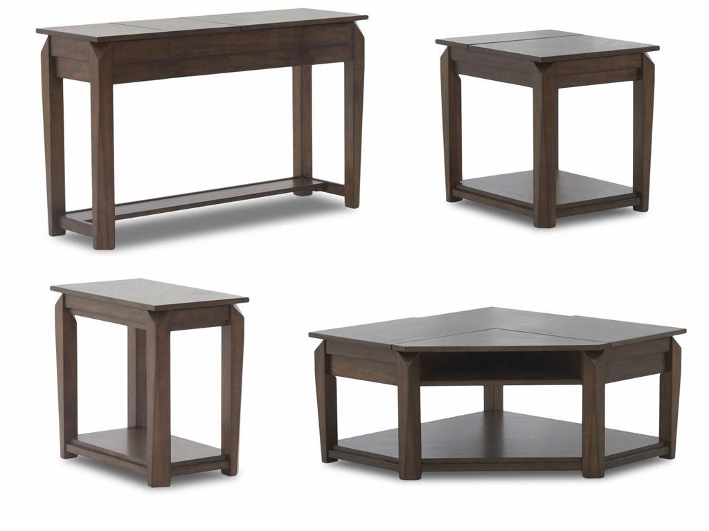 Klaussner International Living Room Wedgeland 446 Occasional Hanks Fine Furniture