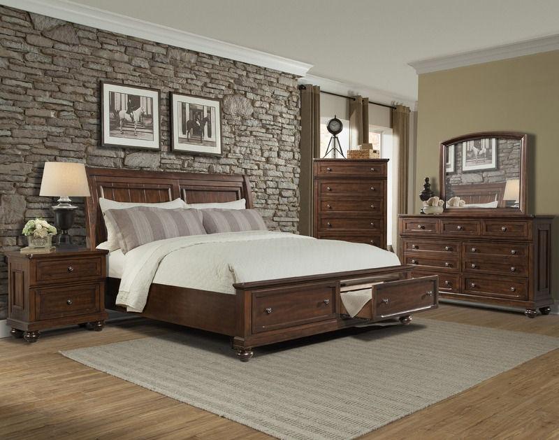 Klaussner International Bedroom Whittington Queen Bed Complete 415 150 Qbed Hanks Fine