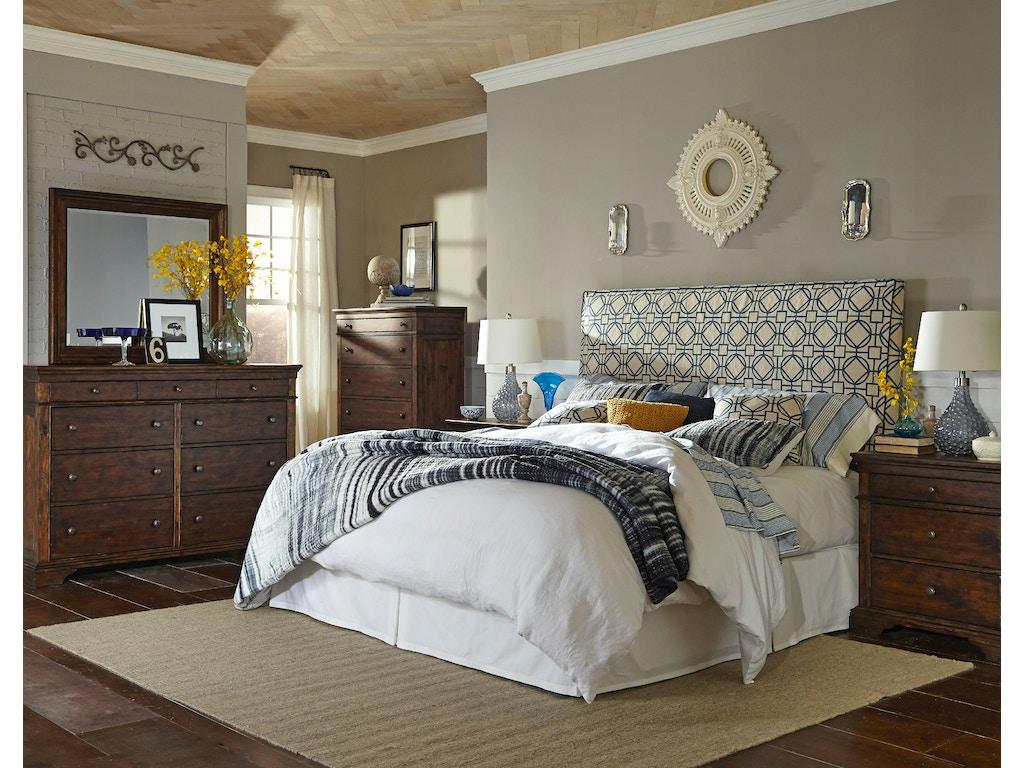 Klaussner International Bedroom Tommy Headboard 24100 Headboard Hanks Fine Furniture