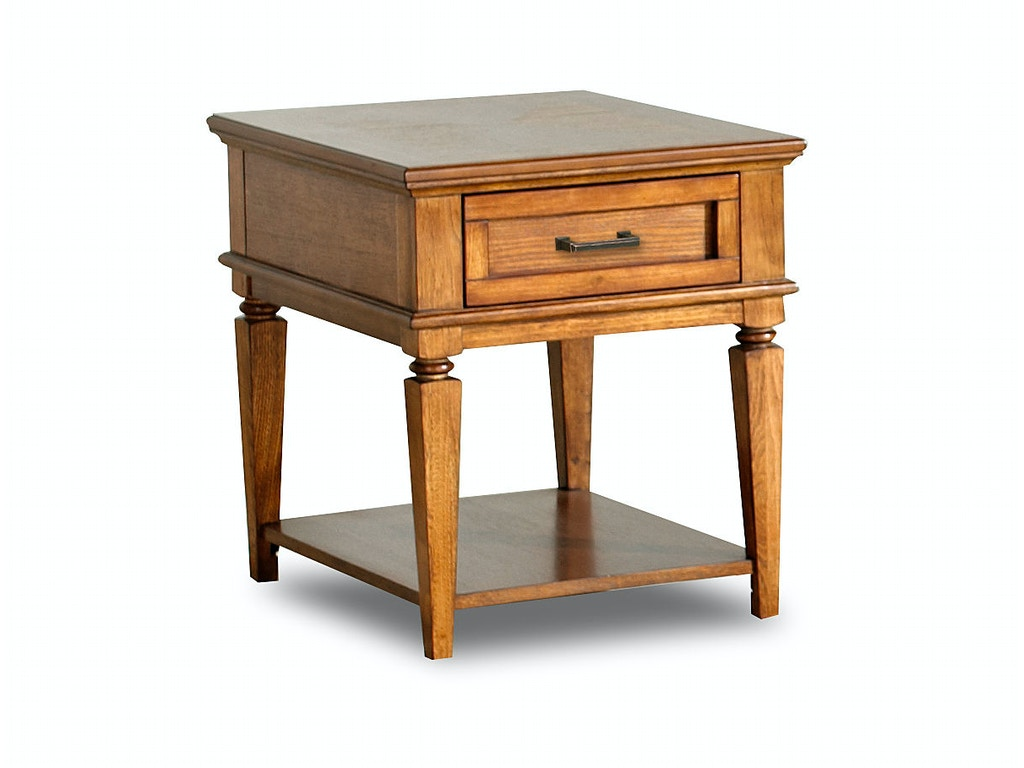 klaussner international living room concord end table 747