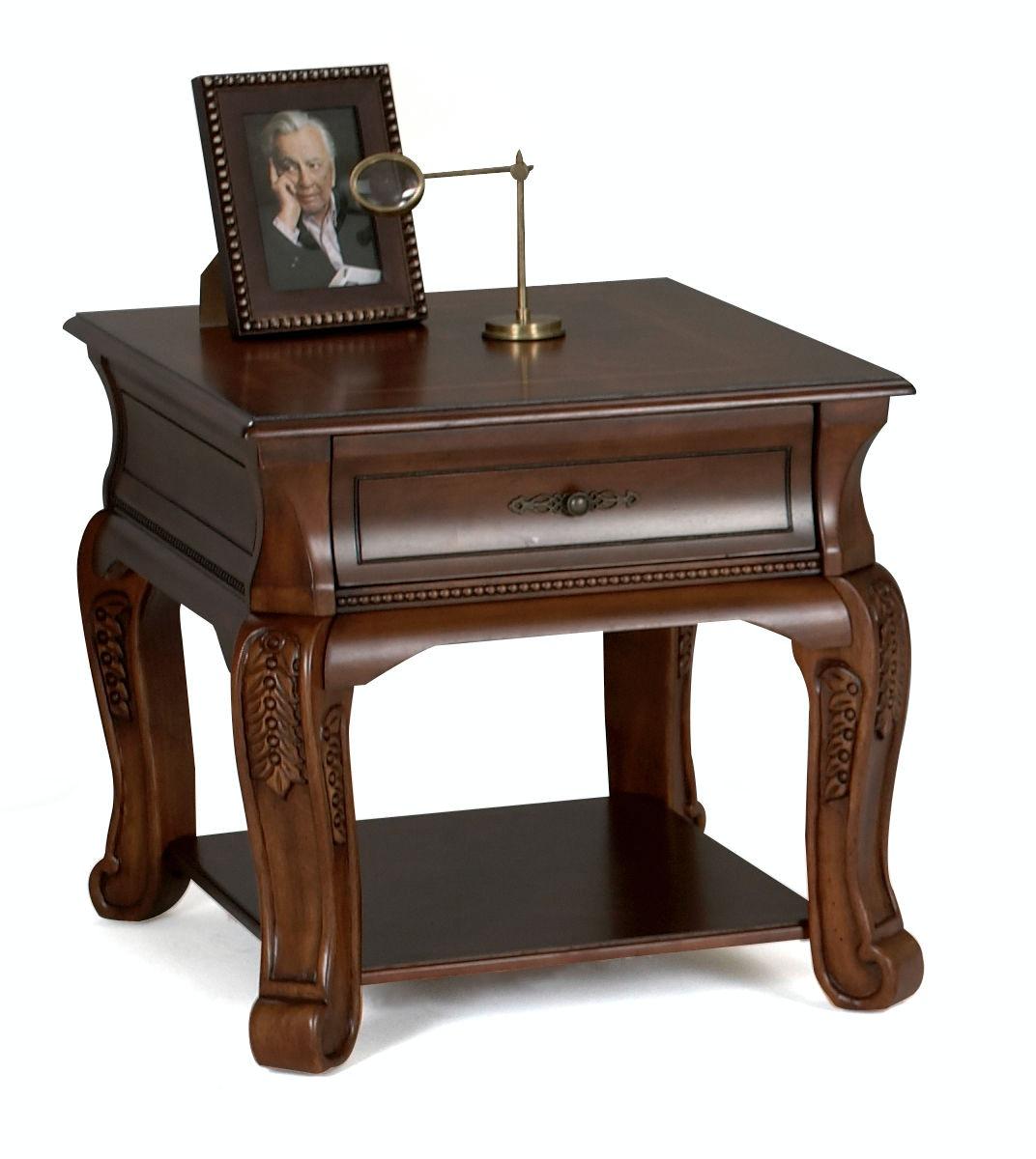 Klaussner International Winchester End Table 808 809 ETBL ...
