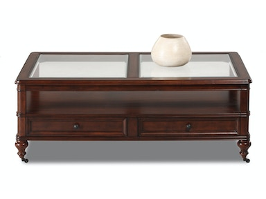 Klaussner International Living Room Kinston Cocktail Table