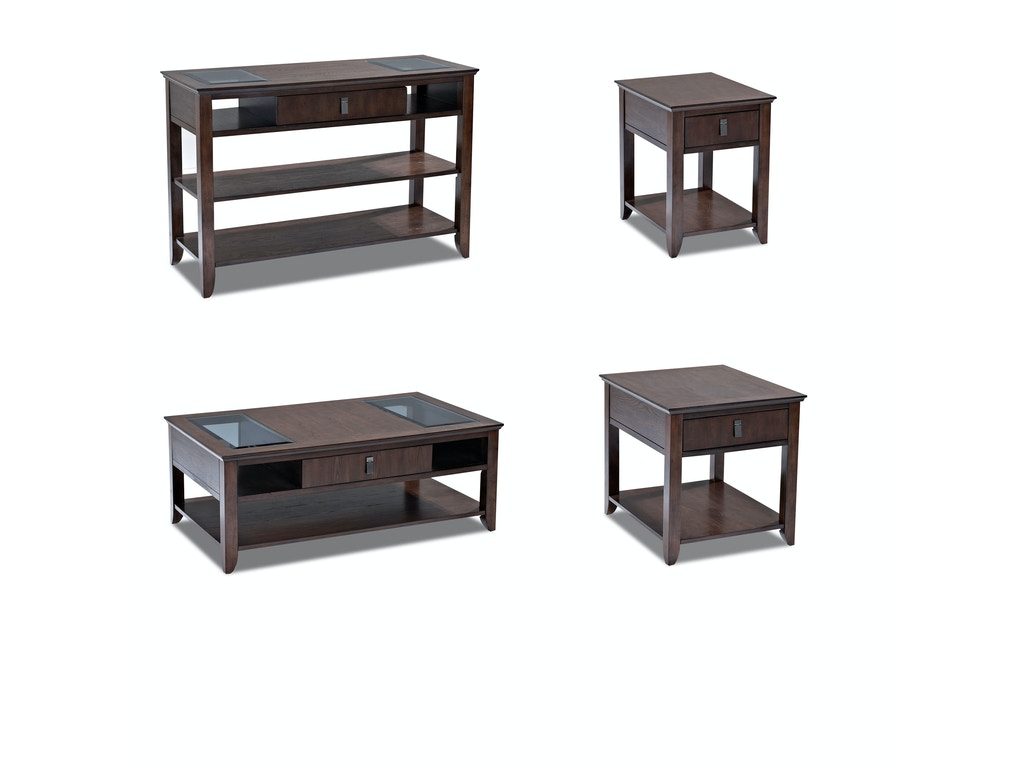Klaussner International Living Room Park Row Cocktail Table 918 819 Ctbl Hanks Fine Furniture
