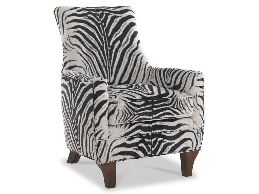 The MT Company Living Room Caribe Curved Wing Chair BH
