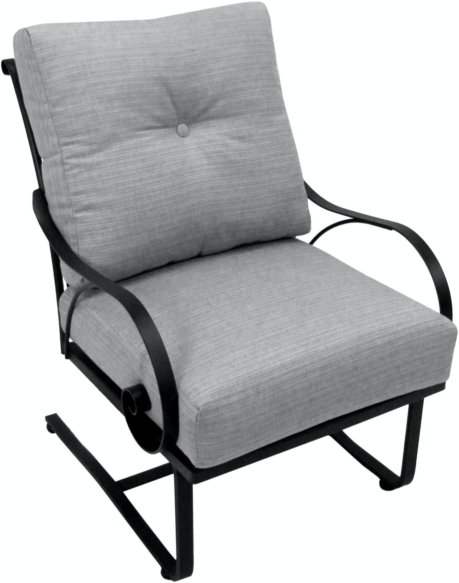 Meadowcraft Outdoor Patio Monticello Club Spring Chair
