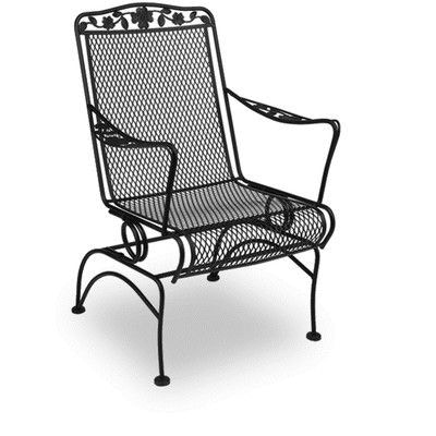 Meadowcraft Outdoor Patio Dogwood Coil Spring Chair